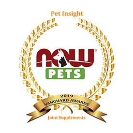 2019 Pet Insight Vanguard award
