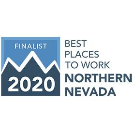 2020 best places to work regional finalist logo