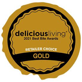 Delicious Living Best Bite Award 2021
