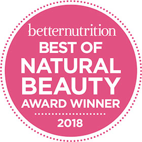 best of natural beauty logo 2018