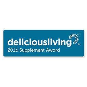 The deliciousliving 2016 Supplement Award winner