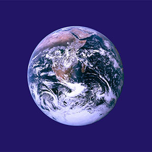 The Earth Day flag logo