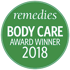 remedies body care award 2018