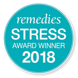 remedies stress award logo 2018