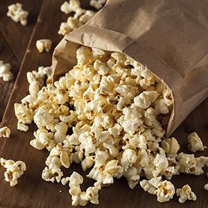 Organic Vegan 'Buttered' Popcorn
