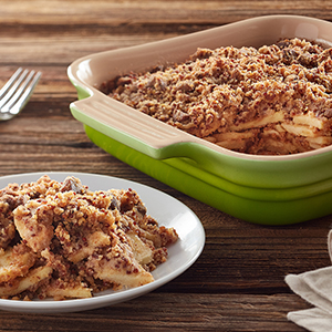 Gluten Free Apple Crisp with Red Quinoa Streusel