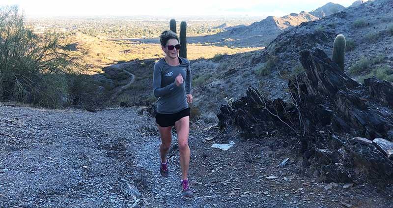 nicole bitter trail run