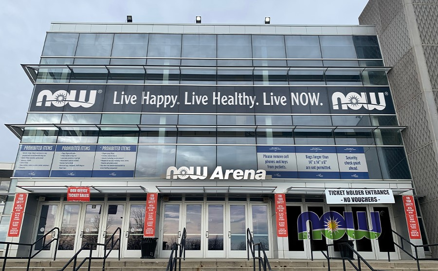 now arena entrance inline