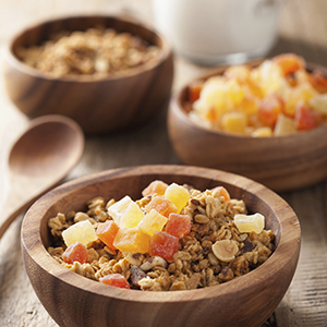 Bahama Mama Healthy Tropical Oatmeal