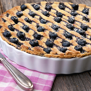 Gluten Free Blueberry Frangipane Tart