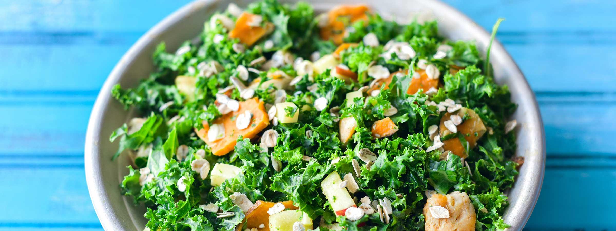 classic kale salad hero