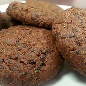Coconut Black Quinoa Chocolate Chip Cookies