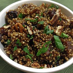 Cumin-Infused Maqui Quinoa