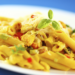 Curry Pasta Chicken Salad