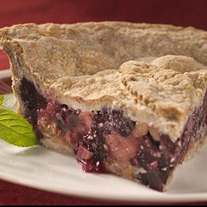 Gluten Free Berry Rhubarb Pie
