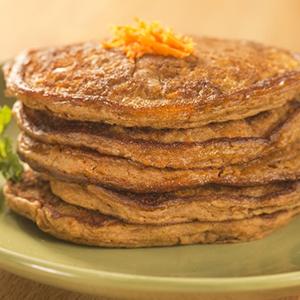 Gluten Free Carrot Cake Pancakes