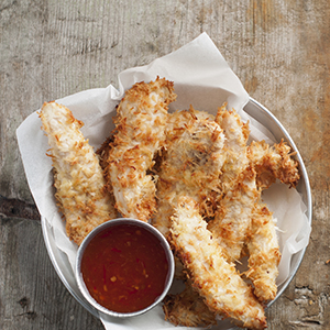 Gluten Free Triple Coconut Chicken Tenders