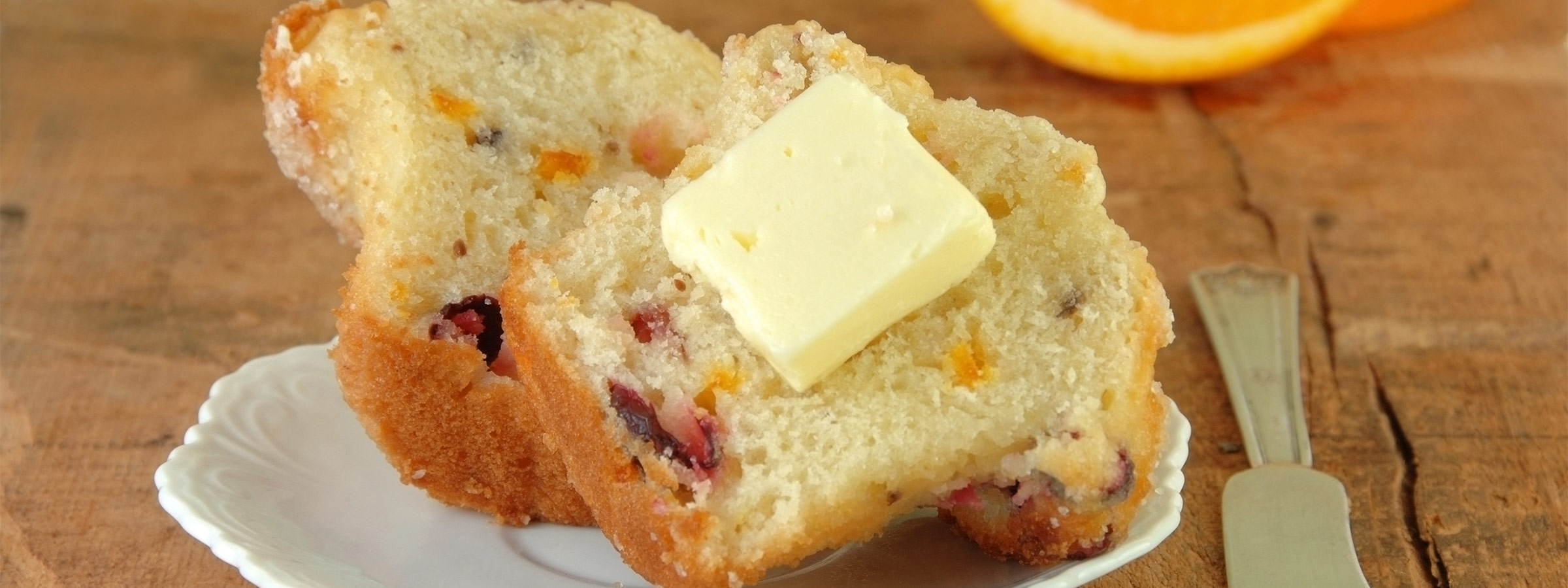 orange cran muffin image