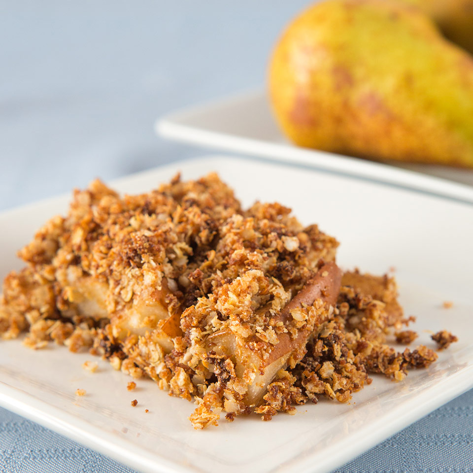 pear and maple syrup crumble thumbnail
