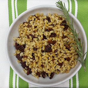 Rosemary Freekeh Side Dish