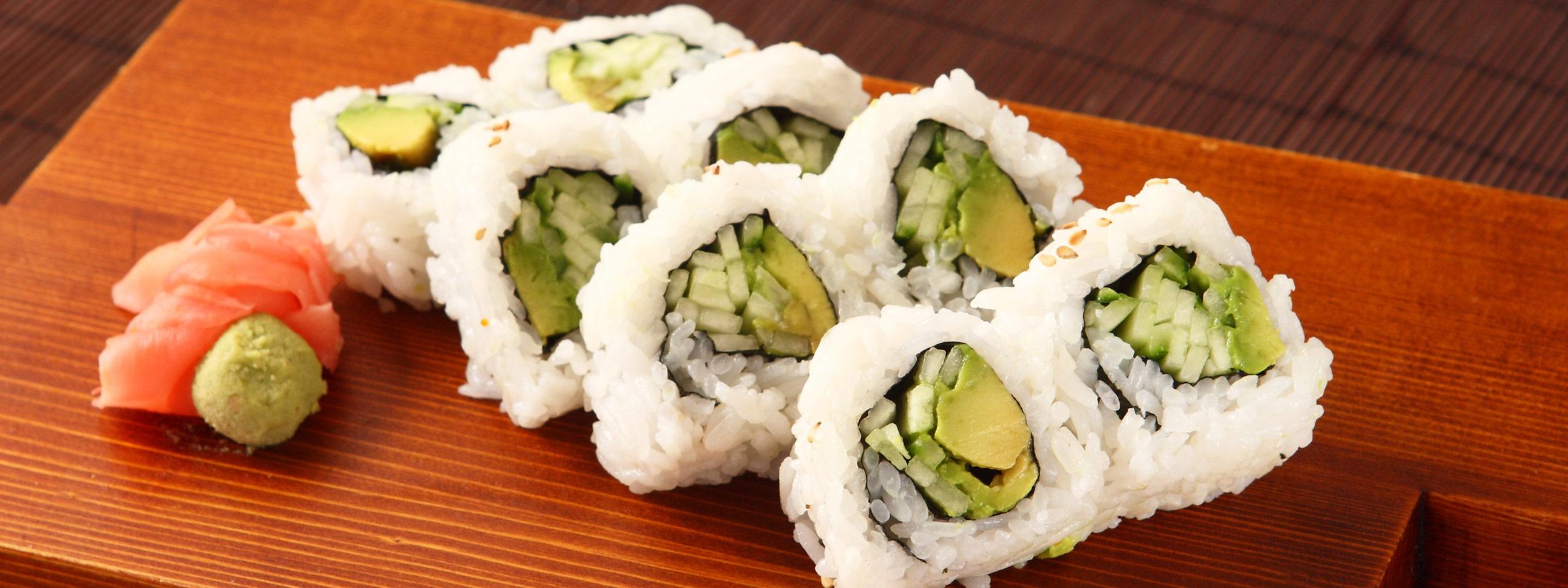 simple vegan sushi roll