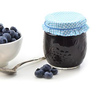 Sugarless Sugar Blueberry Jam