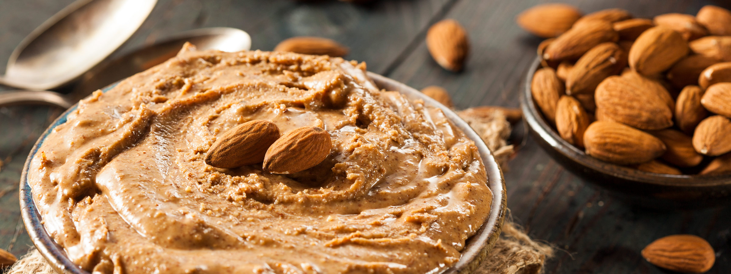 supercharge almond butter hero