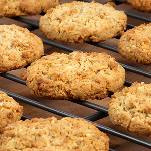 Vegan Tropical Oatmeal Cookie