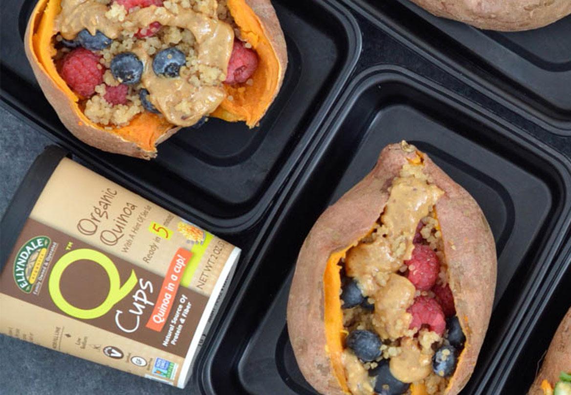 almond butter berries quinoa sweet potato feature