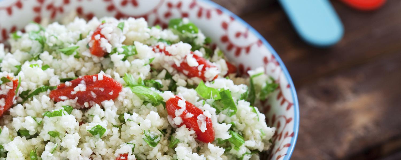 cauliflower couscous  feature image