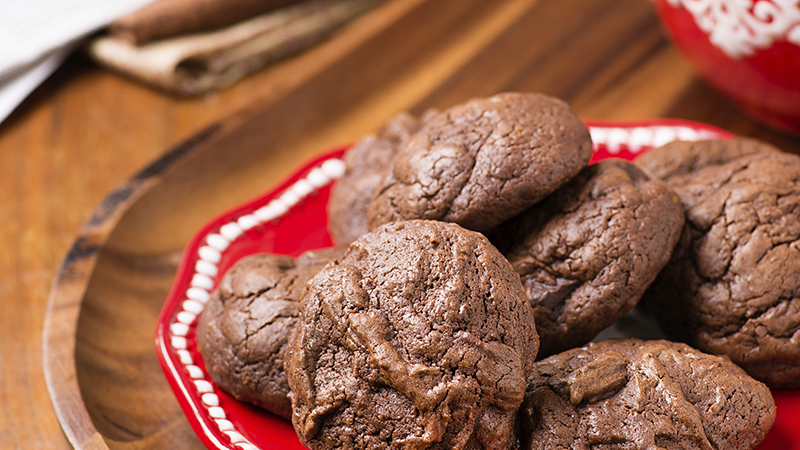 gluten free cacao cookies featured