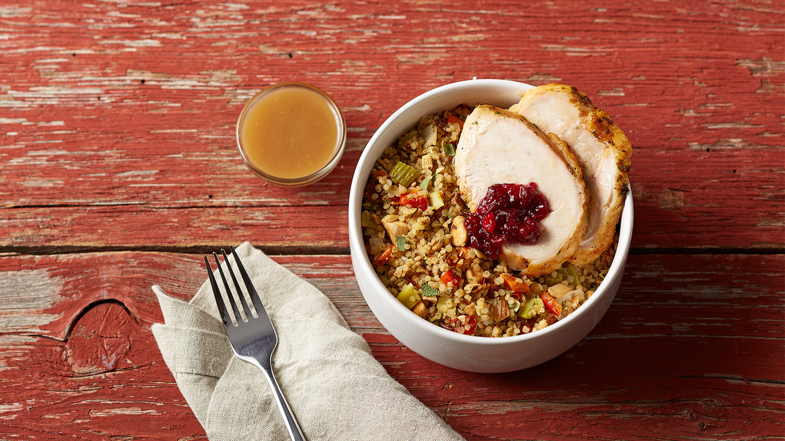 simple turkey bowl recipe