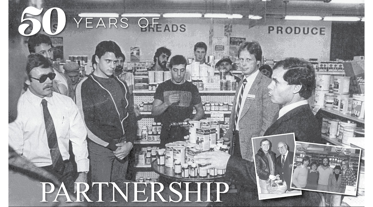 50 years if partnership slide