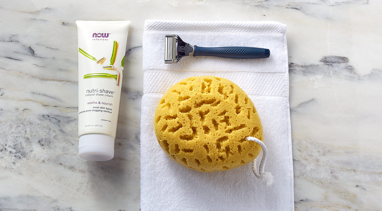 nutri shave cream green mom slide