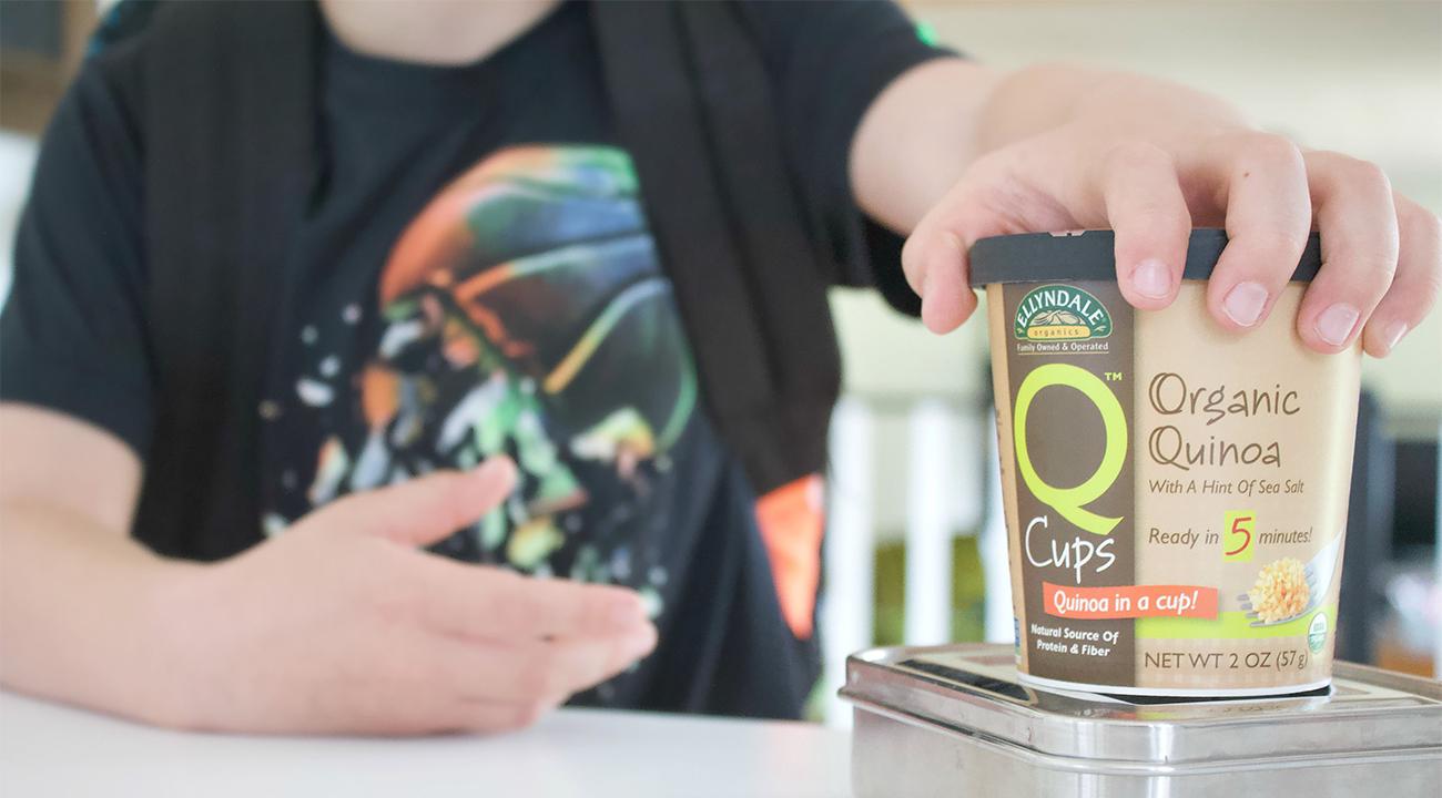 q cup ultimate foodie slide