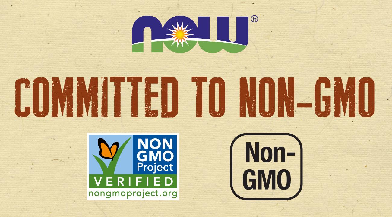 NOW's non-GMO Assurance