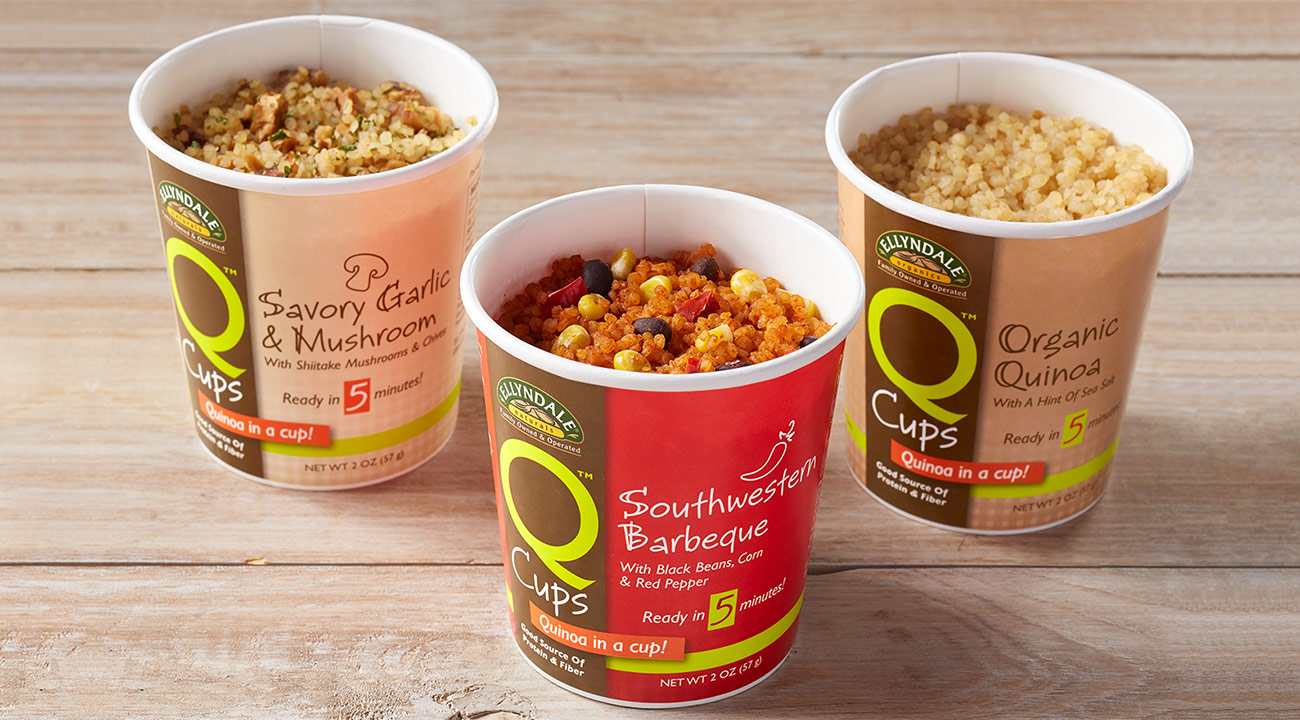 Microwavable Quinoa Q Cups