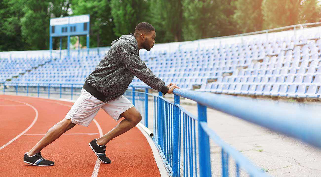 running track slide