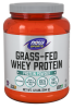 Grass-Fed Whey Protein, Unflavored Powder - 1.2 lbs.