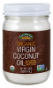Virgin Coconut Oil in Glass Jar, Organic - 12 fl. oz.