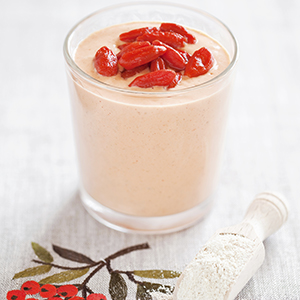 Super Antioxidant Goji Protein Shake Recipe