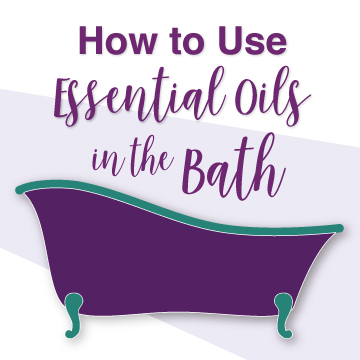 how to use EO in the bath thumb