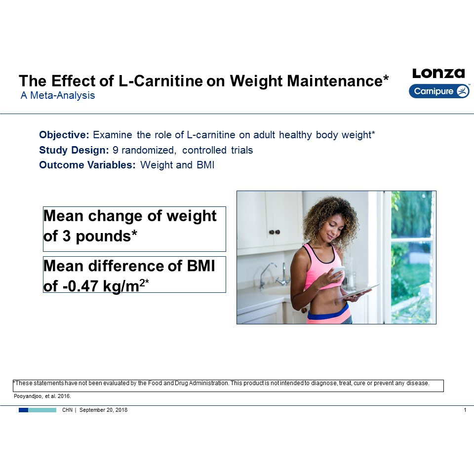 Carnipure® L-Carnitine Weight Loss image