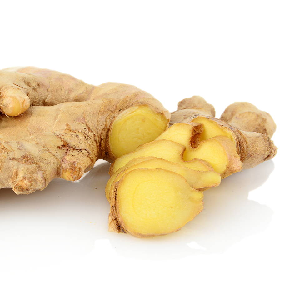 Ginger Root 550 Mg Veg Capsules Now Foods