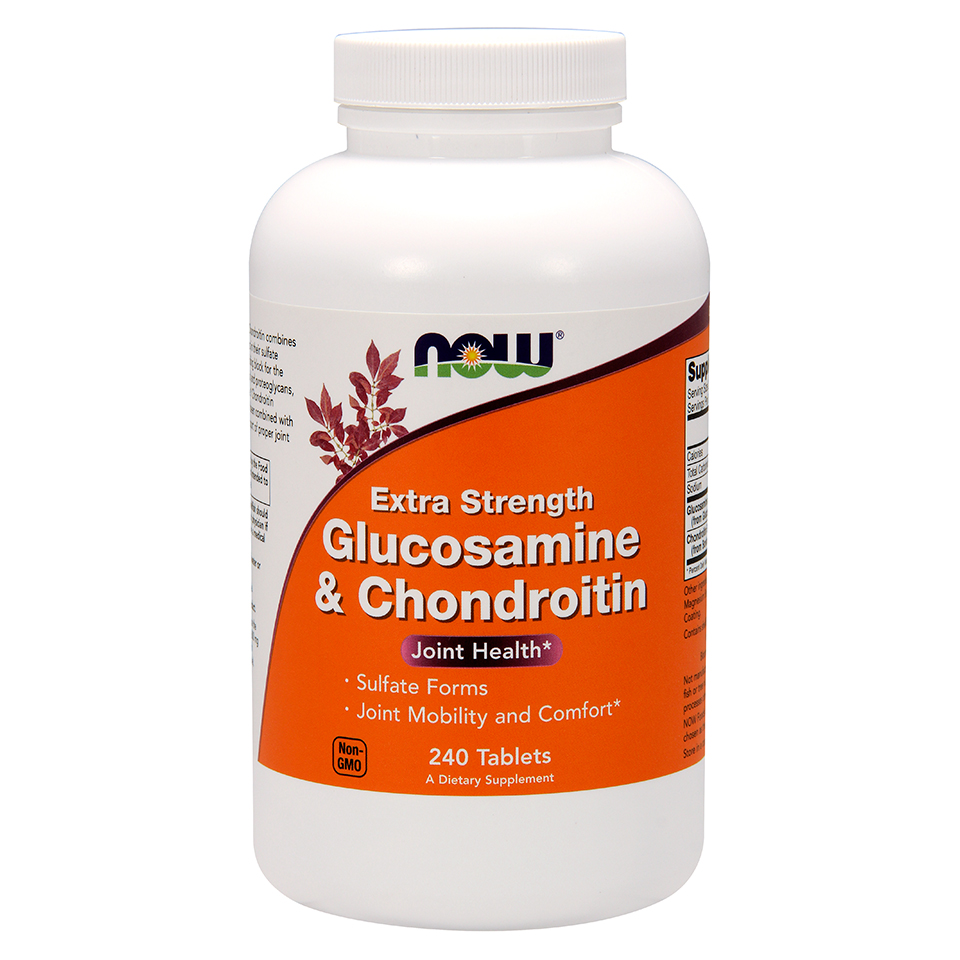 NOW® Glucosamine and Chondroitin Joint Supplement is Highest Quality and Best Value