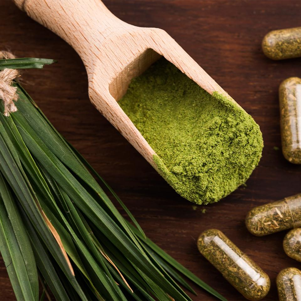 100% Organic Barley Grass