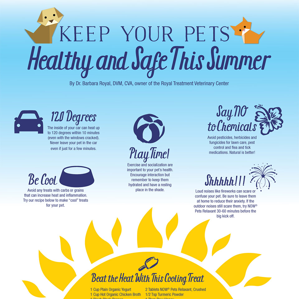 Pet Health Supplements Now Food Gastric Tablet Green World Keep Your Pets Healthy And Safe This Summer Infographic View Article