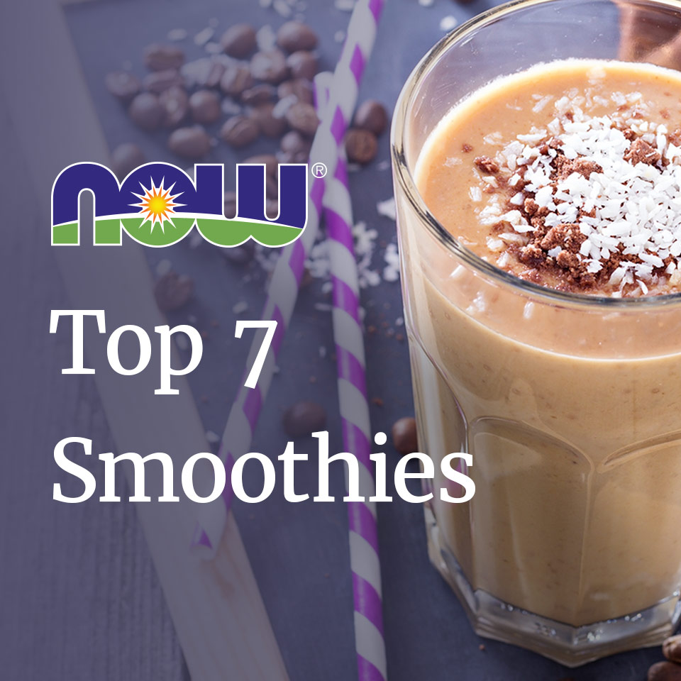NOW's Top 7 Smoothie Recipes