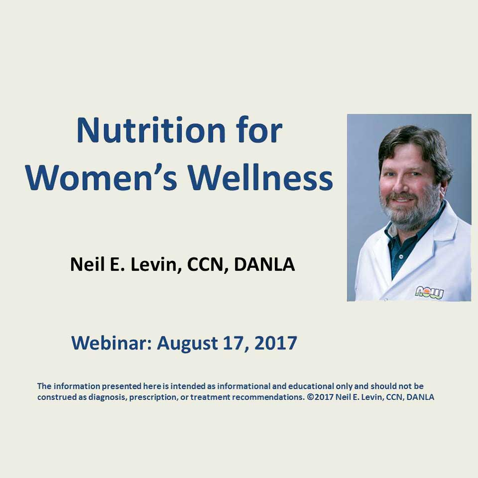 Nutrition for Women's Wellness Webinar image