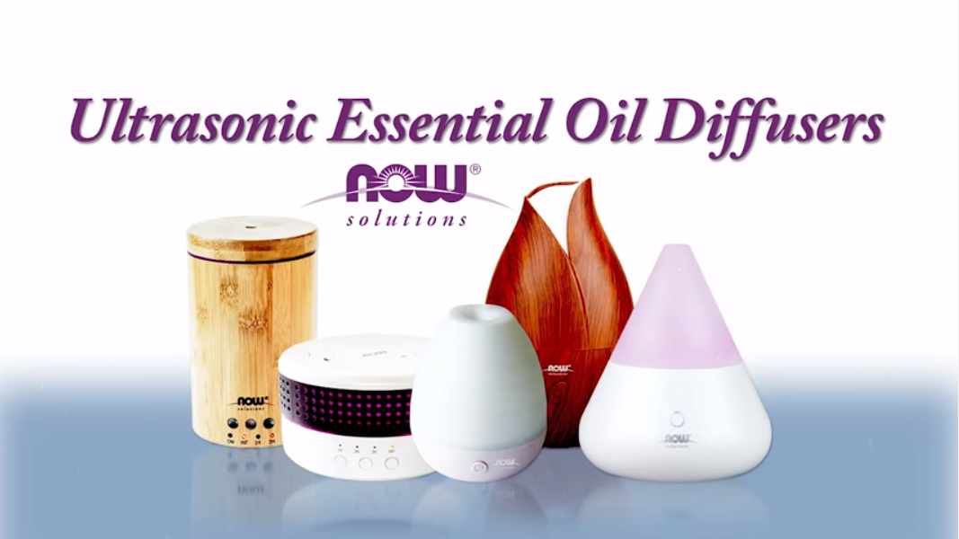 Ultrasonic Diffuser | Essential Oil Diffusers | NOW Foods